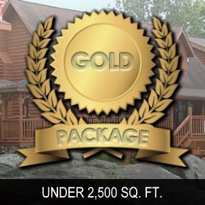 Gold package under 2500 SQ FT