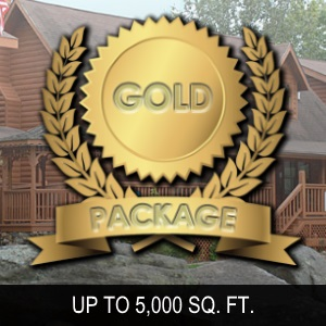 Gold package up to 5000 sq ft